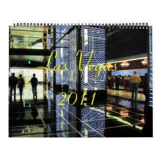 Las Vegas 2011 Calendar
