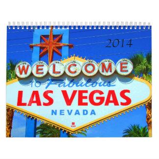 Las Vegas 2014 Calendar