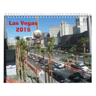Las Vegas - 2015 Calendar