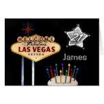 Las Vegas 21st Birthday Card