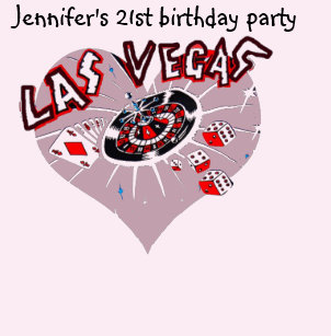 Las Vegas 21st Birthday Party For Female T Shirt