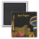 Las Vegas 2 Inch Square Magnet