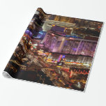 Las Vegas 2 Wrapping Paper at Zazzle
