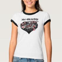 Las Vegas 40th Birthday Celebration T-Shirt