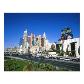 Las Vegas 4.25x5.5 Paper Invitation Card