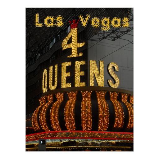 Las Vegas 4 Queens Poster