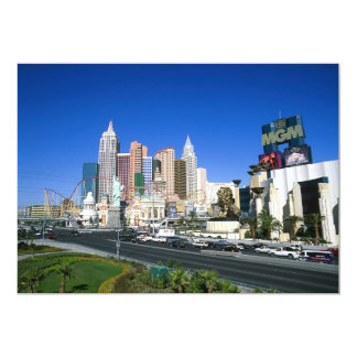 Las Vegas 5x7 Paper Invitation Card