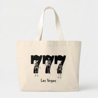 Las Vegas 777 Skeleton Classic Tote Bag