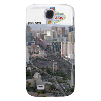 Las Vegas Aerial Photo with Welcome Sign Samsung Galaxy S4 Case
