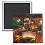 Las Vegas aerial view from a blimp Fridge Magnet