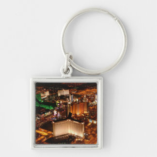 Las Vegas aerial view from a blimp Keychain