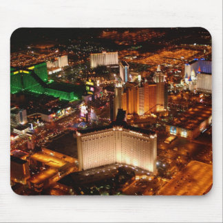 Las Vegas aerial view from a blimp Mouse Pad