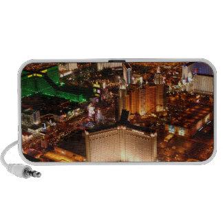 Las Vegas aerial view from a blimp Notebook Speaker