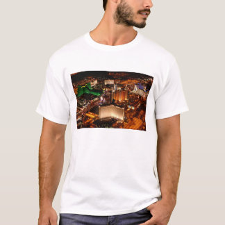 Las Vegas aerial view from a blimp T-Shirt