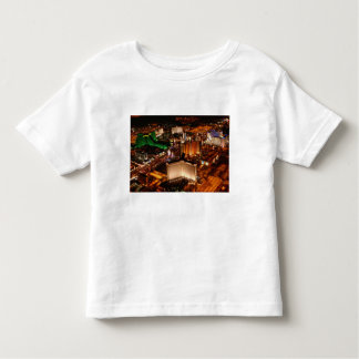 Las Vegas aerial view from a blimp Toddler T-shirt