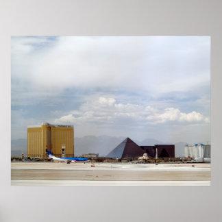 Las Vegas Airport Runway Poster Print