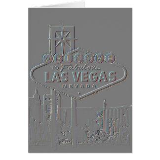 Las Vegas Alien Invitations Greeting Cards