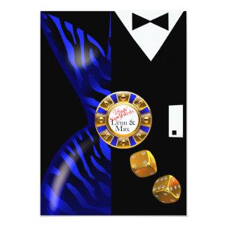 Las Vegas Art Deco Wedding Reception | cobalt Card