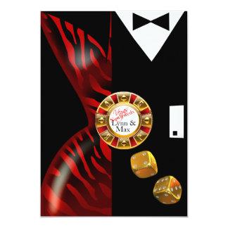 Las Vegas Art Deco Wedding Reception | red zebra Card