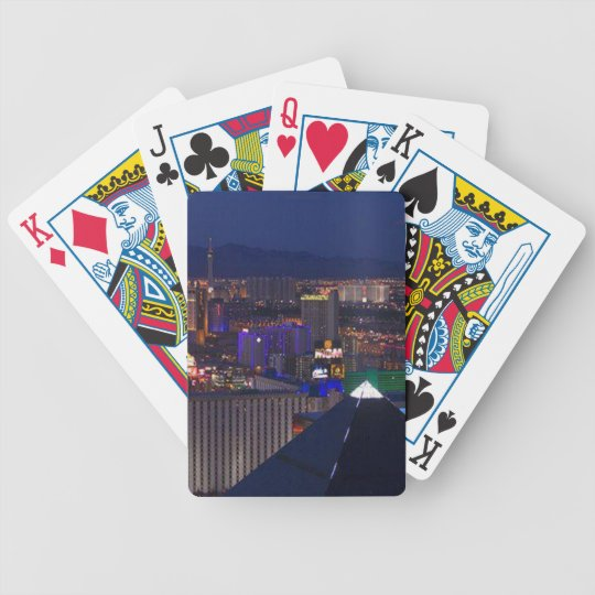 LAS VEGAS AT NIGHT BICYCLE PLAYING CARDS