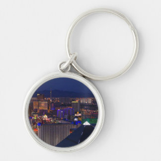 LAS VEGAS AT NIGHT KEYCHAIN