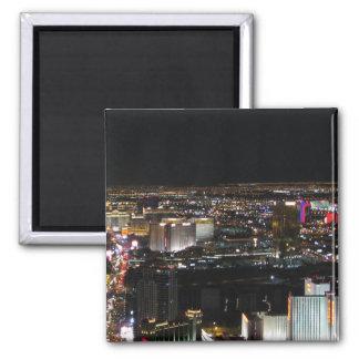 Las Vegas at Night Fridge Magnets