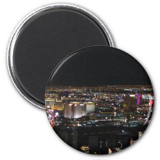Las Vegas at Night Fridge Magnet