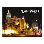 Las Vegas at Night Postcard! Postcard
