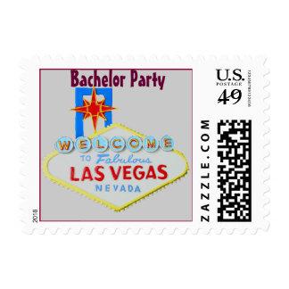 Las Vegas Bachelor Party Postage