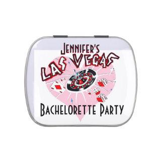 Las Vegas Bachelorette Jarrones De Dulces