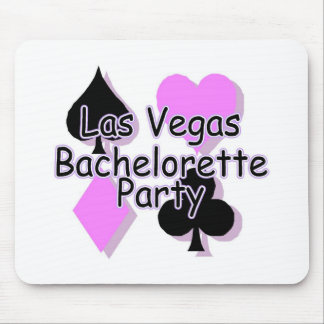 Las Vegas Bachelorette Party Card Suits Mouse Pad