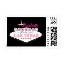 Las Vegas Bachelorette Party Custom Postage Stamp