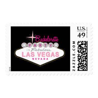 Las Vegas Bachelorette Party Custom Postage Stamp Postage Stamp