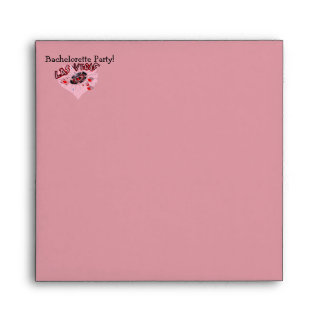 Las Vegas Bachelorette Party Envelope