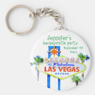 Las Vegas Bachelorette Party Favor Keychain
