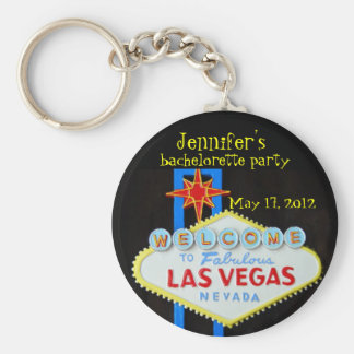 Las Vegas Bachelorette Party Favor Keychain