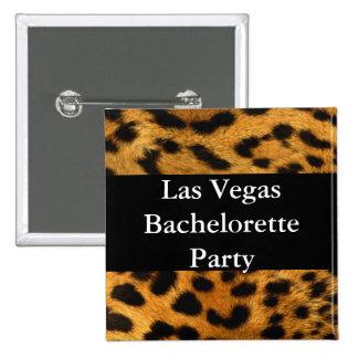 Las Vegas Bachelorette Party Pinback Button