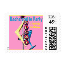 Las Vegas Bachelorette Party Postage
