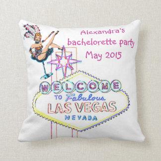 Las Vegas Bachelorette Party Souvenir Pillow