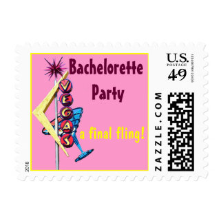 Las Vegas Bachelorette Party Stamp
