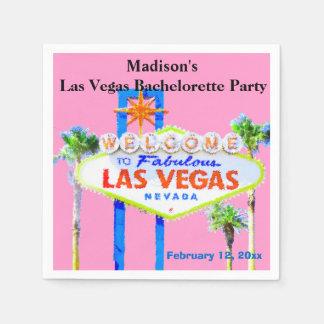 Las Vegas Bachelorette Party Standard Cocktail Napkin