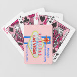 Las Vegas Bachelorette Pink Final Fling Sign Playi Deck Of Cards