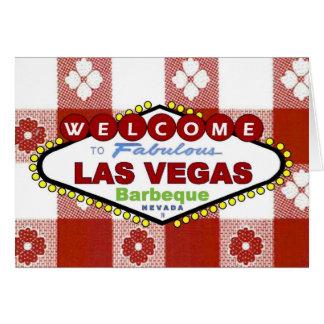 Las Vegas Barbeque Invitation Card