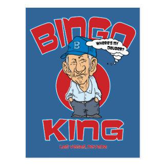 Las Vegas Bingo King Post Cards