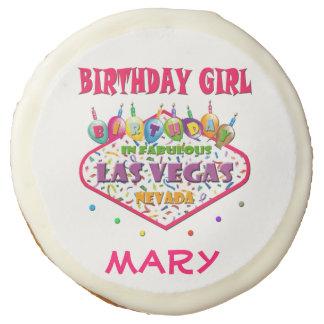 Las Vegas BIRTHDAY GIRL COOKIE