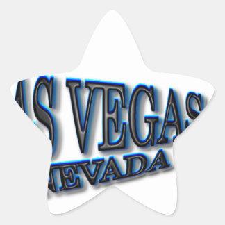 Las Vegas BlackBlue Star Sticker