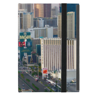 Las Vegas Boulevard Daytime Aerial View for iPads iPad Mini Covers