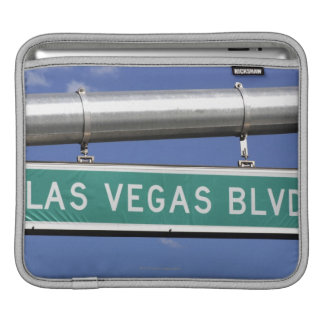 Las Vegas Boulevard street sign - The Strip Sleeves For iPads