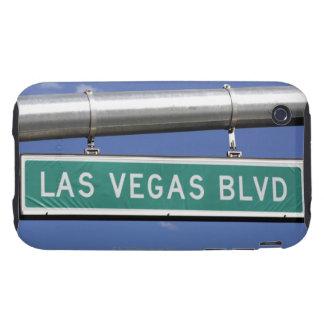 Las Vegas Boulevard street sign - The Strip Tough iPhone 3 Cover