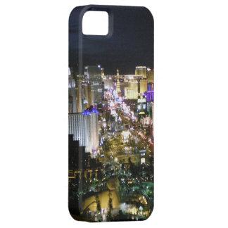 Las Vegas Boulevard View at night iPhone SE/5/5s Case